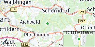 Google Map of Lichtenwald