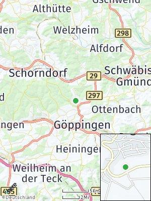 Here Map of Börtlingen