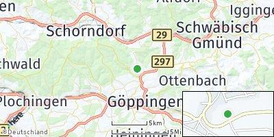 Google Map of Börtlingen