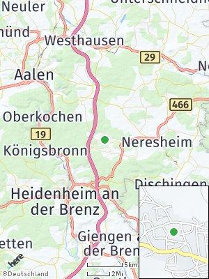 Here Map of Großkuchen