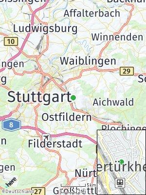 Here Map of Obertürkheim