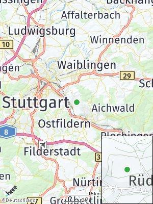 Here Map of Rüdern