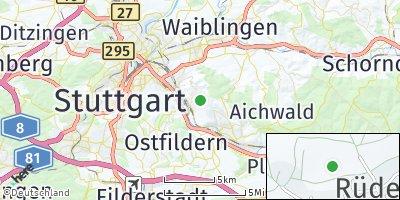 Google Map of Rüdern