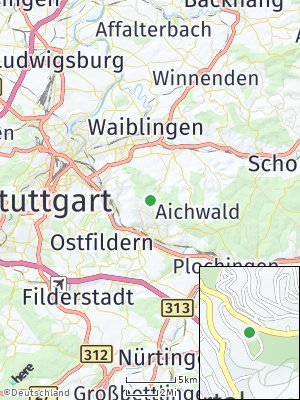 Here Map of Obertal