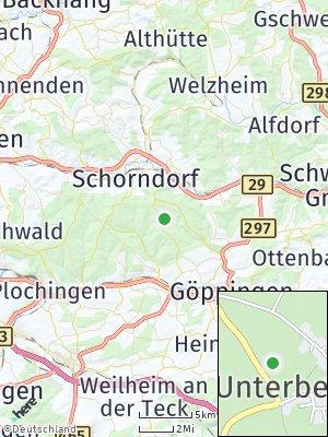 Here Map of Unterberken