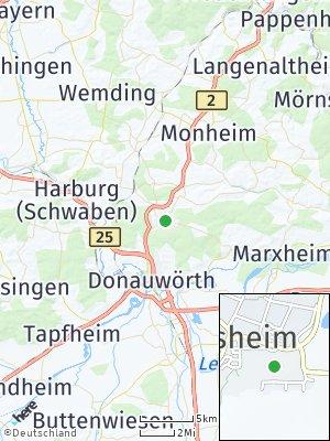 Here Map of Kaisheim