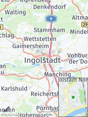 Here Map of Ingolstadt