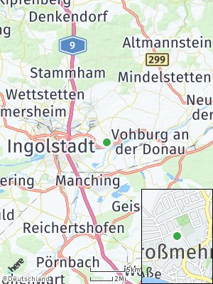 Here Map of Großmehring