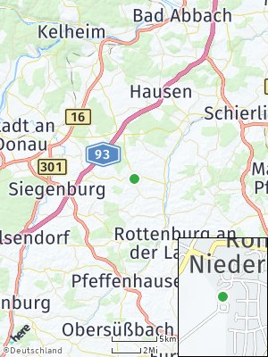 Here Map of Rohr in Niederbayern