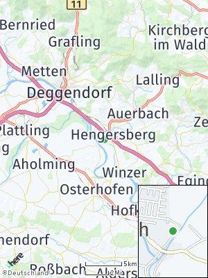 Here Map of Niederalteich