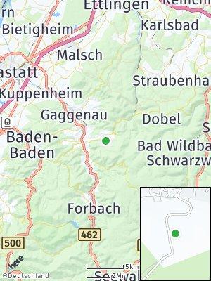 Here Map of Loffenau