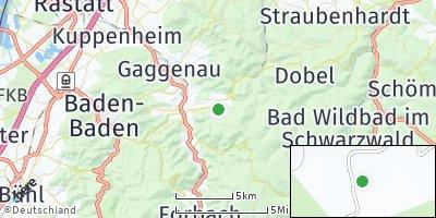 Google Map of Loffenau