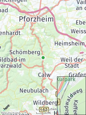 Here Map of Bad Liebenzell