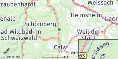 Google Map of Bad Liebenzell