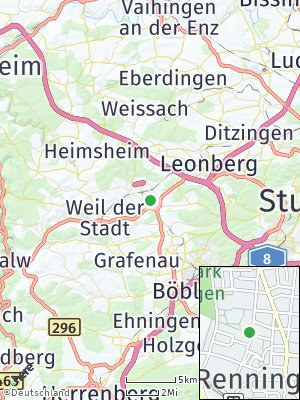 Here Map of Renningen