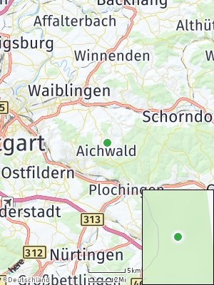 Here Map of Aichwald