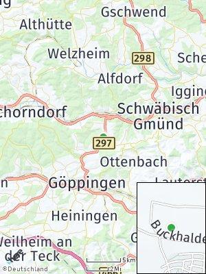 Here Map of Wäschenbeuren