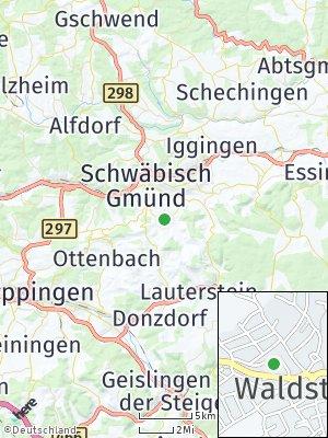 Here Map of Waldstetten