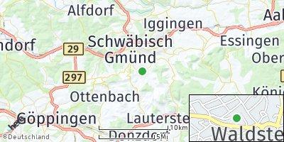 Google Map of Waldstetten