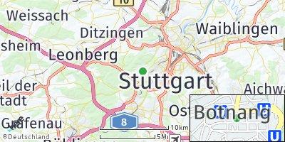 Google Map of Botnang