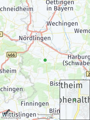 Here Map of Hohenaltheim