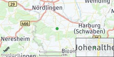 Google Map of Hohenaltheim