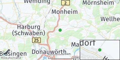 Google Map of Buchdorf