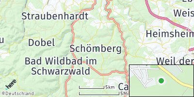 Google Map of Schömberg