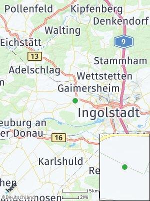 Here Map of Dünzlau