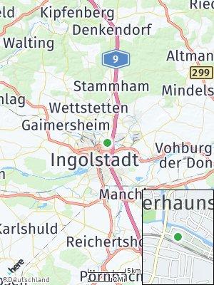 Here Map of Unterhaunstadt