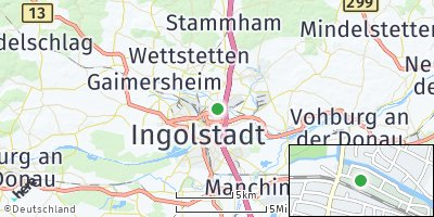 Google Map of Unterhaunstadt