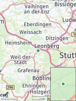 Here Map of Silberberg