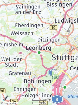 Here Map of Eltingen