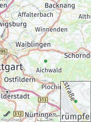 Here Map of Strümpfelbach