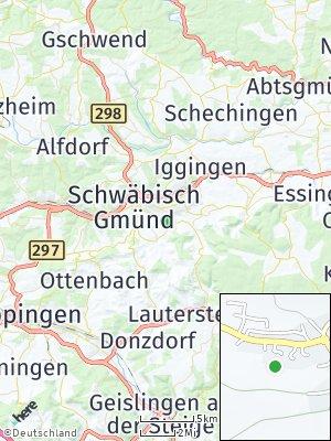 Here Map of Unterbettringen