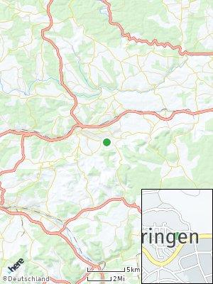 Here Map of Bettringen
