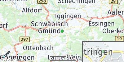 Google Map of Bettringen