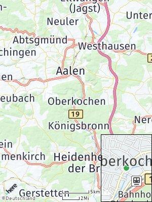 Here Map of Oberkochen