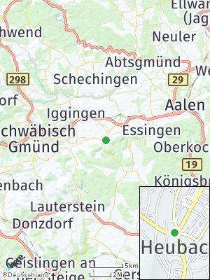 Here Map of Heubach