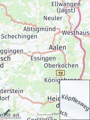Here Map of Essingen