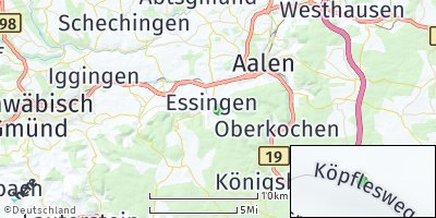 Google Map of Essingen