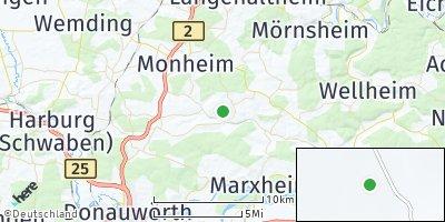 Google Map of Daiting