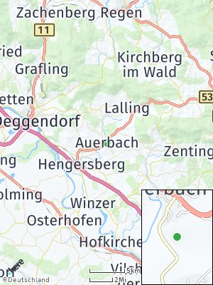 Here Map of Auerbach