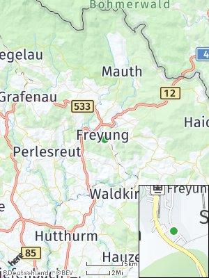 Here Map of Freyung