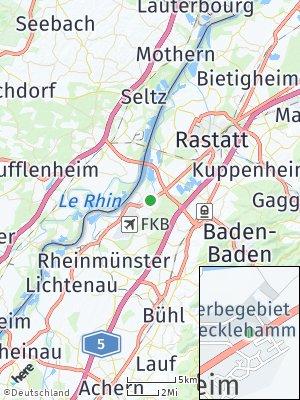 Here Map of Hügelsheim