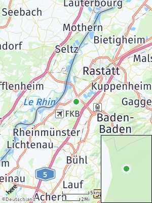 Here Map of Iffezheim