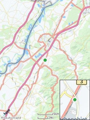 Here Map of Sandweier