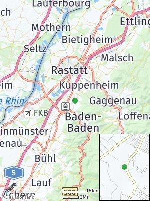 Here Map of Haueneberstein