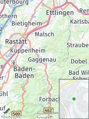 Here Map of Gaggenau