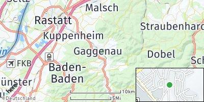 Google Map of Gaggenau